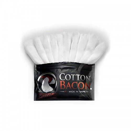 Коттон органический Wick—n—Vape Cotton Bacon v2 10 гр