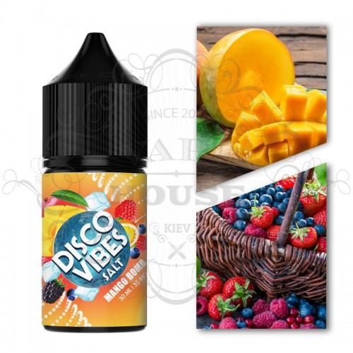 Премиум жидкость Disco Vibes SALTED — Mango Bomb