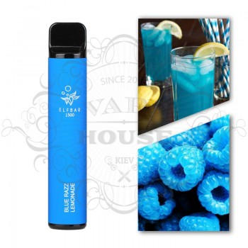 Одноразовая электронная сигарета —  ELFBAR 850 Blue Razz Lemonade