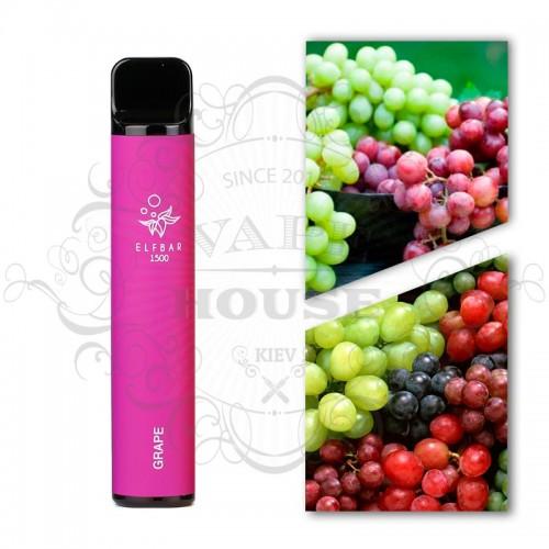 Одноразовая электронная сигарета — ELFBAR 1500 Grape