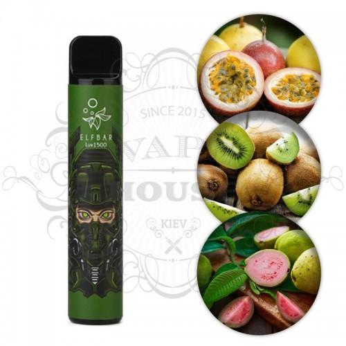 Одноразовая электронная сигарета — ELFBAR 850 Lux Kiwi Passion Fruit Guava