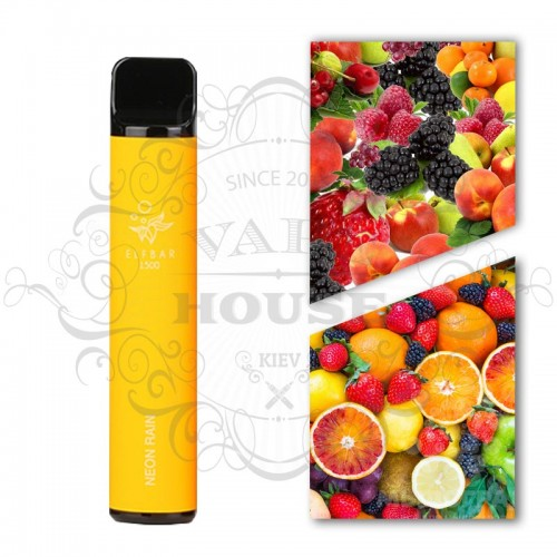 Одноразовая электронная сигарета — ELFBAR 850 Neon Rain