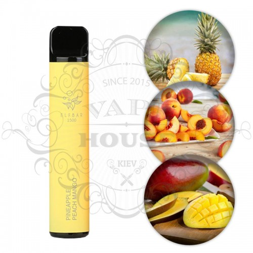 Одноразовая электронная сигарета — ELFBAR 850 Pineapple Peach Mango