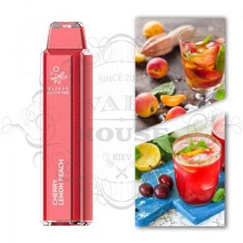 Одноразовая электронная сигарета —  ElfBar Crystal 2500 Cherry Lemon Peach