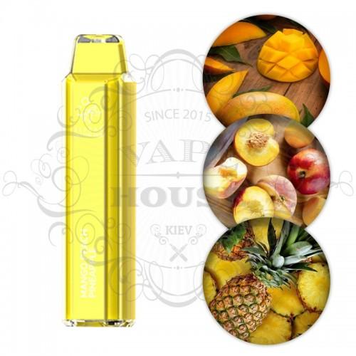 Одноразовая электронная сигарета — ElfBar Crystal 2500 Mango Peach Pineapple