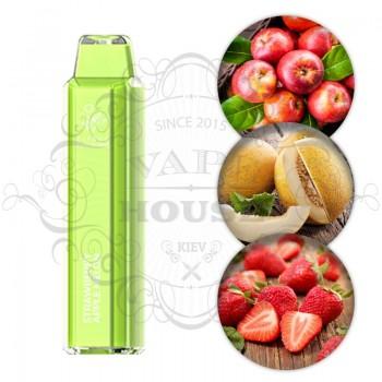 Одноразовая электронная сигарета —  ElfBar Crystal 2500 Strawberry Apple Melon