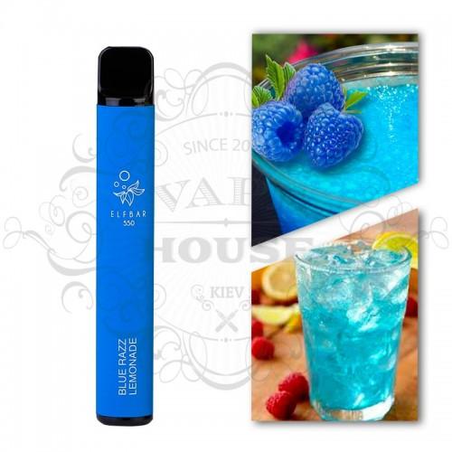 Одноразовая электронная сигарета — ELFBAR 550 Blue Razz Lemonade