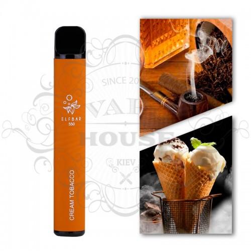 Одноразовая электронная сигарета — ELFBAR 550 Cream Tobaco