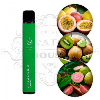 Одноразовая электронная сигарета —  ELFBAR 550 Kiwi Passion Fruit Guava