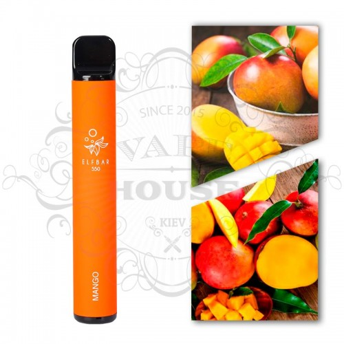 Одноразовая электронная сигарета — ELFBAR 550 Mango
