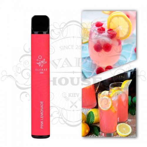 Одноразовая электронная сигарета — ELFBAR 550 Pink Lemonade