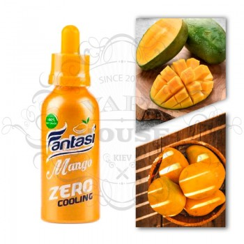 Э-жидкость Fantasi —  Mango Blackcurrant Zero Cooling