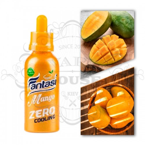 Премиум жидкость Fantasi — Mango Blackcurrant Zero Cooling