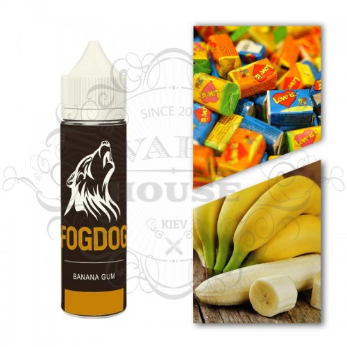 Премиум жидкость FOGDOG — Banana Gum