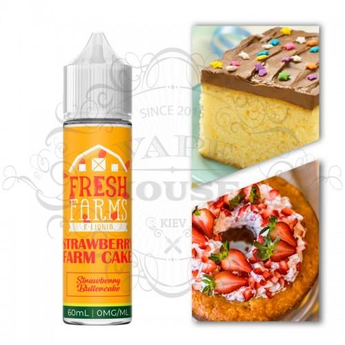 Премиум жидкость — Strawberry Farm Cake