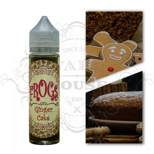Премиум жидкость Frog from Fog — Ginger Cake