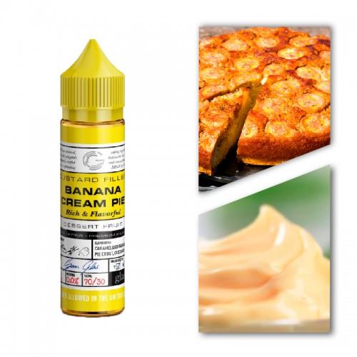 Премиум жидкость Glas — Banana Cream Pie