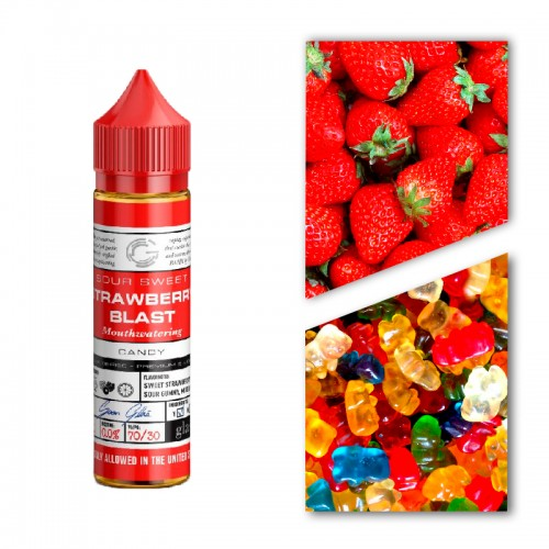 Премиум жидкость Glas — Strawberry Blast