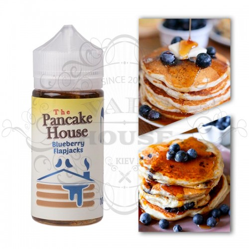 Премиум жидкость The Pancake House — Blueberry Flapjacks