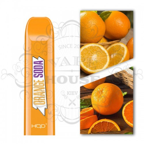 Одноразовая электронная сигарета — HQD Disposable Orange Soda