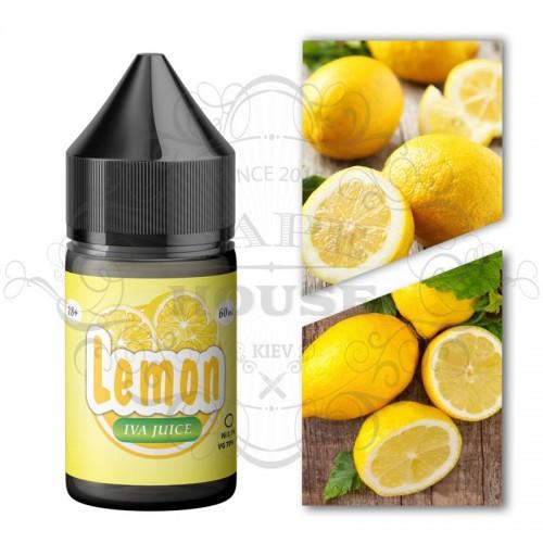 Премиум жидкость IVA — Lemon 30ml
