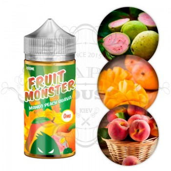 Э-жидкость Fruit Monster — Mango Peach Guava