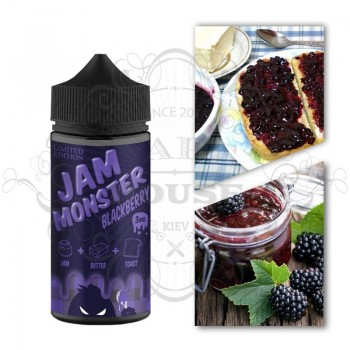Э-жидкость Jam Monster — Blackberry
