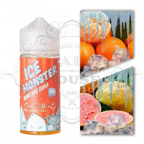 Премиум жидкость Jam Monster — ICE Mangerine Guava