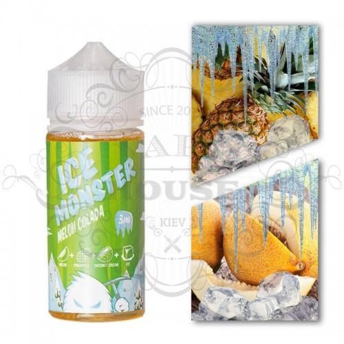 Премиум жидкость Jam Monster — ICE Melon Colada