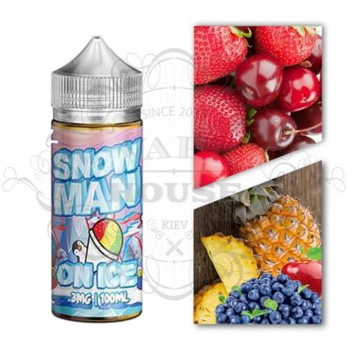 Премиум жидкость Juice Man — Snowman On Ice