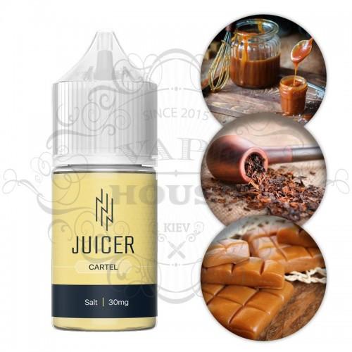 Премиум жидкость Juicer Salt — Cartel