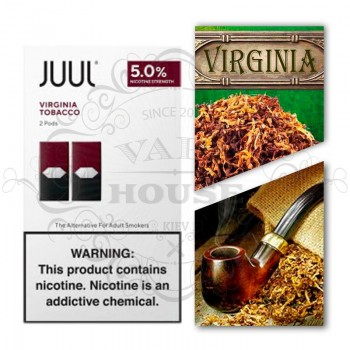 Картридж JUUL Salt — Virginia Tobacco 2 шт
