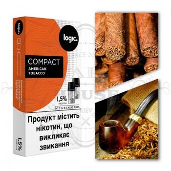 Картридж — Logic Compact American Tobacco 18 mg