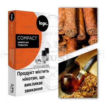 Картридж — Logic Compact American Tobacco 34 mg