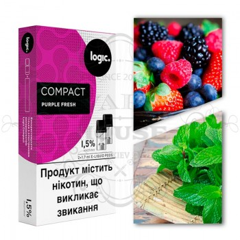 Картридж — Logic Compact Purple Fresh