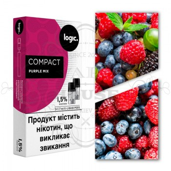 Картридж — Logic Compact Purple Mix