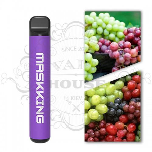 Одноразовая электронная сигарета — Maskking 1000 Виноградный Рай