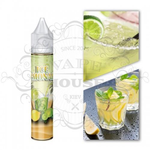 Премиум жидкость Monster Flavor — ICE LEMONADE 30мл