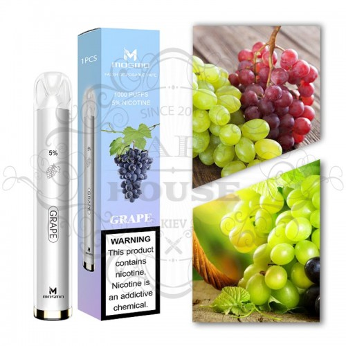 Одноразовая электронная сигарета — Mosmo 1000 Grape