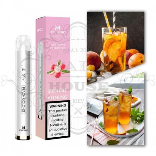 Одноразовая электронная сигарета — Mosmo 1000 Peach Oolng