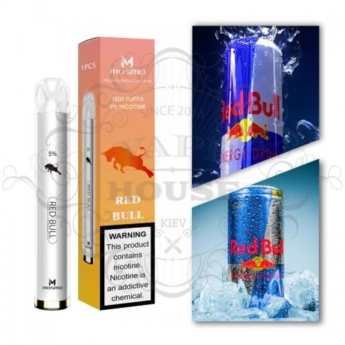 Одноразовая электронная сигарета — Mosmo 1000 Red Bull