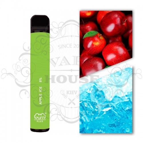 Одноразовая электронная сигарета — Puff Plus Apple Ice