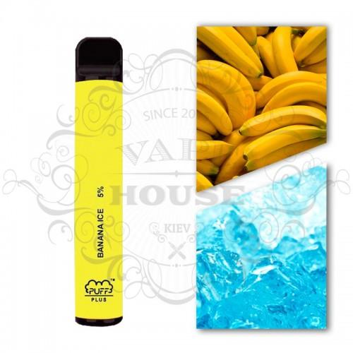 Одноразовая электронная сигарета — Puff Plus Banana Ice