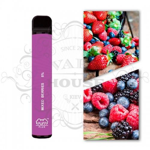 Одноразовая электронная сигарета — Puff Plus Mixed Berries