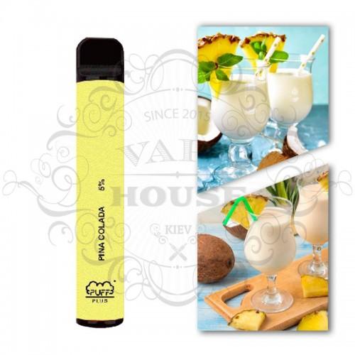 Одноразовая электронная сигарета — Puff Plus Pina Colada