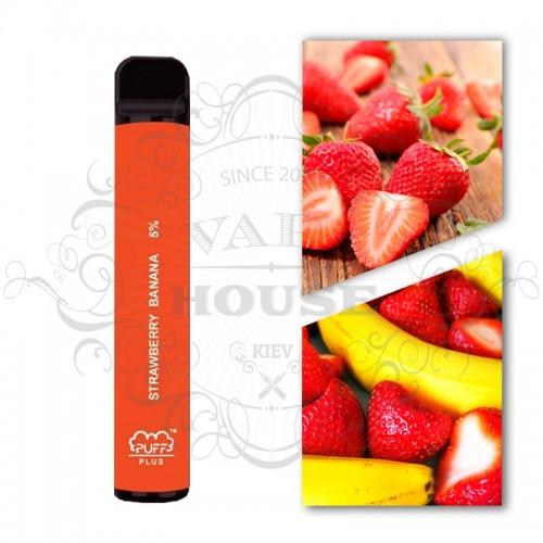 Одноразовая электронная сигарета — Puff Plus Strawberry Banana