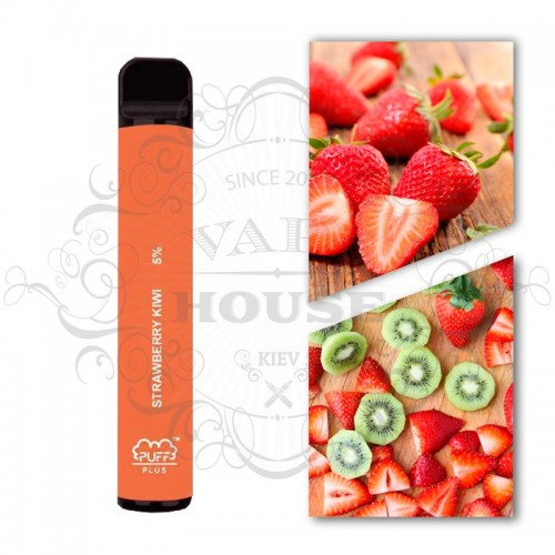 Одноразовая электронная сигарета — Puff Plus Strawberry Kiwi