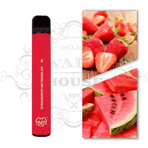 Одноразовая электронная сигарета — Puff Plus Strawberry Watermelon
