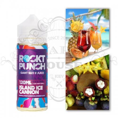 Премиум жидкость Rockt Punch — Island Ice Cannon