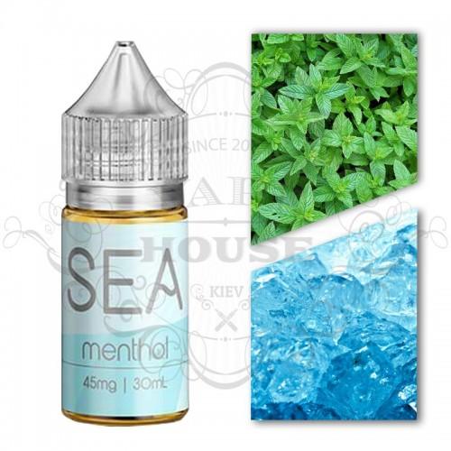 Премиум жидкость Sea Salt — Menthol